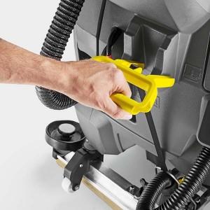 دستگیره بسیار نرم و راحت برای بالاآوردن تیغه خشک کننده