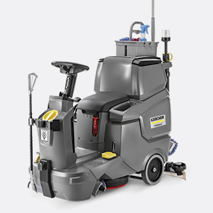 مجهز شدن به انواع تجهیزات نظافتی