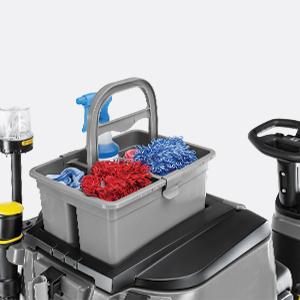 مکان حمل سبد مخصوص تجهیزات نظافتی