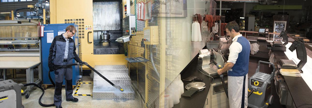 چگونگی کارکرد بخارشوی صنعتی از انتخاب تا نظافت
