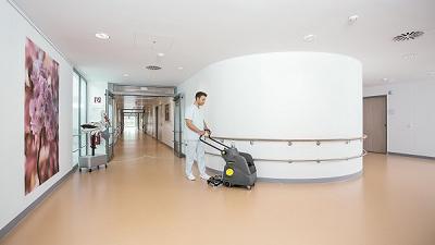 زمین شوی بیمارستانی