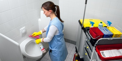 نظافت دستشویی