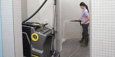 نظافت صنعتی حمام ها