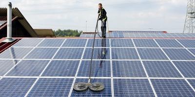 دستگاه پنل تمیز کننده خورشیدی