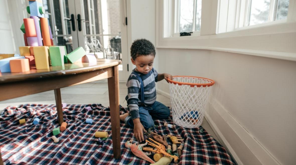 نظافت اتاق کودک