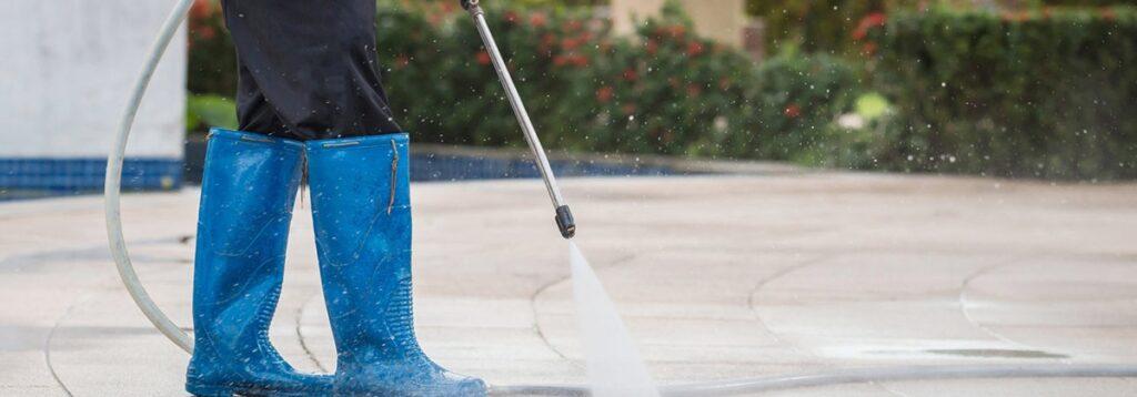 نظافت پارکینگ خانه