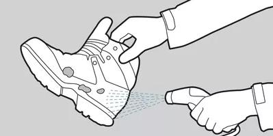 شستن کفشهای کوهنوردی