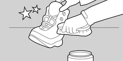 شستن کفشهای پیاده روی