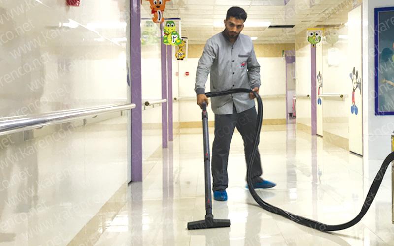 جاروبرقی بیمارستان کارچر