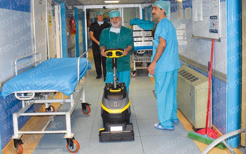 اسکرابر کوچک بیمارستان کارچر